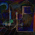 Lute By Night by Kim Gauge