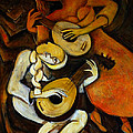 Lute Players by Valerie Vescovi