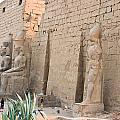 Luxor Temple by James Gay