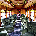 Luxury Lounge Car Of Early Railroading by Paul W Faust -  Impressions of Light