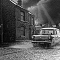 Lye Storm, Ford Anglia Van - 1960's    Ref-245 by William R Hart