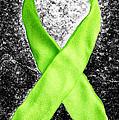 Lyme Disease Awareness Ribbon by Luke Moore