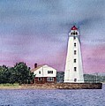Lynde Point Lighthouse by Sharon Farber