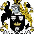 Lyndon Coat Of Arms Irish by Heraldry
