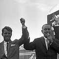 Lyndon Johnson With Robert Kennedy by War Is Hell Store