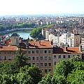 Lyon From Above by Dany Lison