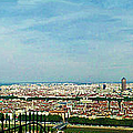 Lyon From The Basilique De Fourviere-color by Paulette B Wright