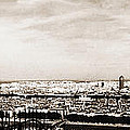 Lyon From The Basilique De Fourviere by Paulette B Wright