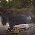 Lyons Falls  - Moose River by Sheila Mashaw