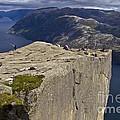 Lysefjord With Prekestolen by Heiko Koehrer-Wagner