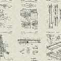 M-16 Military Rifle Patent Collection by PatentsAsArt