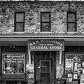 M And M Mercantile Bw by Jerry Fornarotto