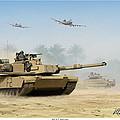 M1a2 Abrams by Mark Karvon