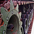 M60 Patton Tank Tread by Bill Owen