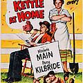 Ma And Pa Kettle At Home, Us Poster by Everett