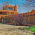 Mabel Dodge Luhan's Courtyard by Charles Muhle