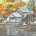 Mabry Grist Mill in Virginia USA