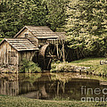 Mabry Mill 2 by Louise Reeves
