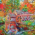 Mabry Mill In Fall by Kendall Kessler