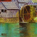 Mabry Mill View by Anne-Elizabeth Whiteway