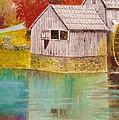 Mabry Mill View II by Anne-Elizabeth Whiteway
