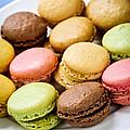 Macaroon cookies by Elena Elisseeva