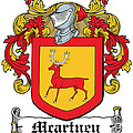 Macartney Coat Of Arms Ulster  by Heraldry