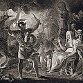 Macbeth, The Three Witches And Hecate by John & Josiah Boydell