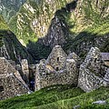 Macchu Picchu - Peru - South America by Jon Berghoff