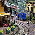 Macchu Picchu Town - Peru by Jon Berghoff