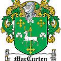 Maccurten Coat Of Arms Irish by Heraldry