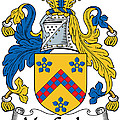 Maccusker Coat Of Arms Irish by Heraldry
