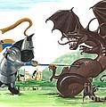 Macduff And The Dragon by Margaryta Yermolayeva