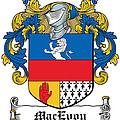Macevoy Coat Of Arms Meath Ireland by Heraldry