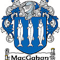Macgahan Coat Of Arms Irish by Heraldry
