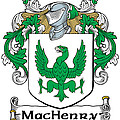 Machenry Coat Of Arms Ulster Ireland by Heraldry