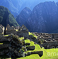 Machu Picchu And Urubamba Canyon by James Brunker