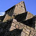 Machu Picchu Hut Peru by Ryan Fox
