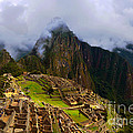 Machu Picchu Overlook by Catherine Sherman