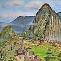 Machu Picchu by Swati Singh