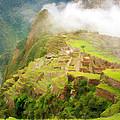 Machu Picchu Textured 2 by Chris Thaxter