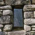 Machu Picchu Window by Jared Bendis
