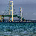 Mackinac Bridge by Jerry Gammon