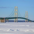 Mackinac In March by Keith Stokes
