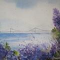 Mackinac Island Lilacs by Sandra Strohschein
