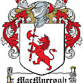 Macmurrogh Coat Of Arms Carlow Ireland by Heraldry