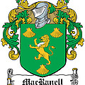Macranell Coat Of Arms Leitrim Ireland by Heraldry