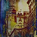 Macys Three - Neo-grundge - Famous Buildings And Landmarks Of New York City by Miriam Danar