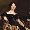 Madame Jacques-louis Leblanc. Francoise Poncelle by Jean-Auguste-Dominique Ingres