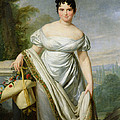 Madame Tallien 1773-1835 Oil On Canvas by Jacques Louis David